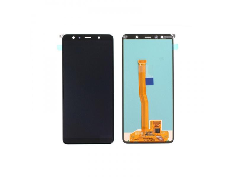 LCD + dotyk pro Samsung Galaxy A7 2018, black ( Service Pack )
