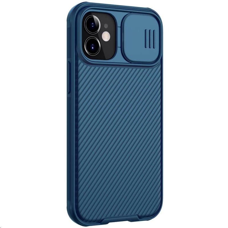 Zadní kryt Nillkin CamShield Pro Magnetic pro Apple iPhone 12 mini, modrá