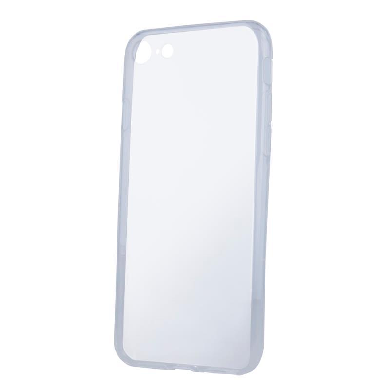Silikonové pouzdro Slim 1mm pro Samsung Galaxy S21+, transparentní