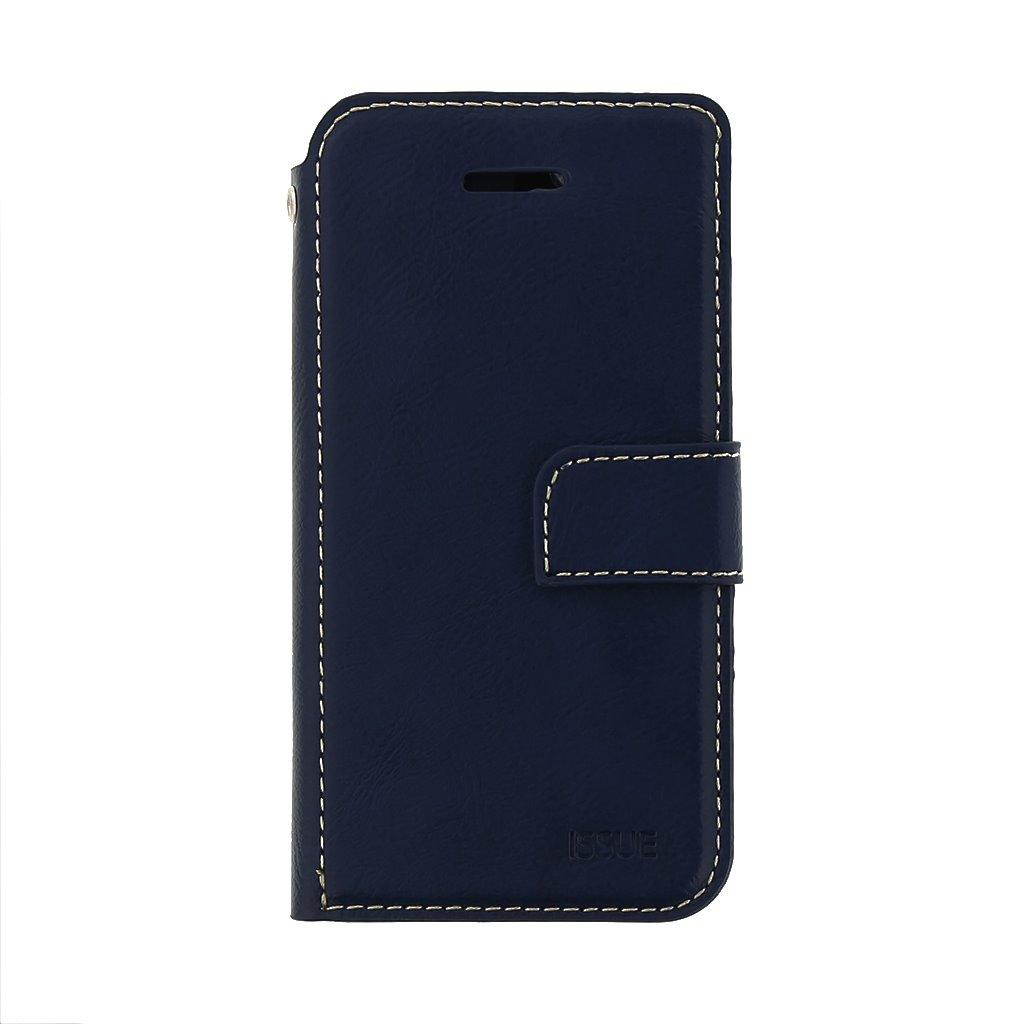 Flipové pouzdro Molan Cano Issue pro Motorola G30, modrá