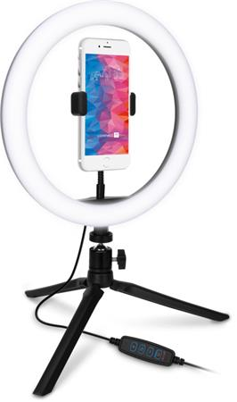Kruhové LED světlo CONNECT IT Selfie10Ring, malé
