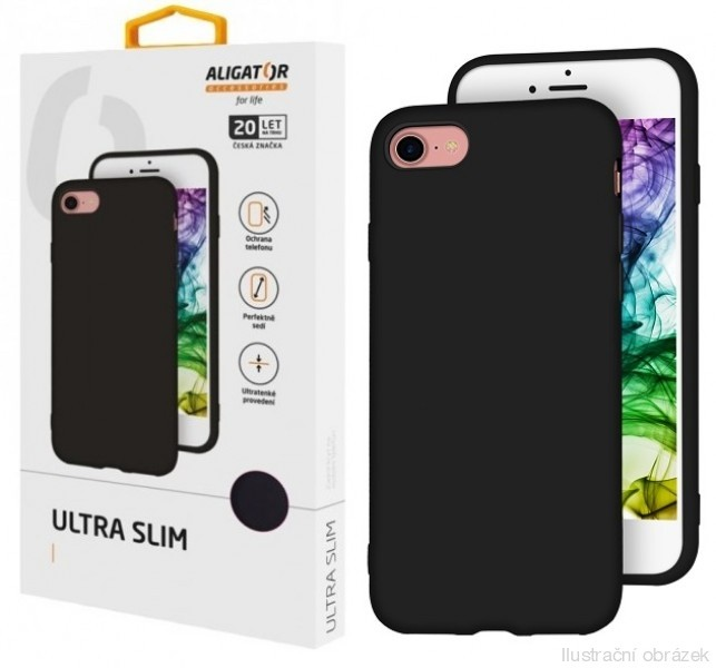 Silikonové pouzdro ALIGATOR Ultra Slim pro Samsung Galaxy S20FE, black