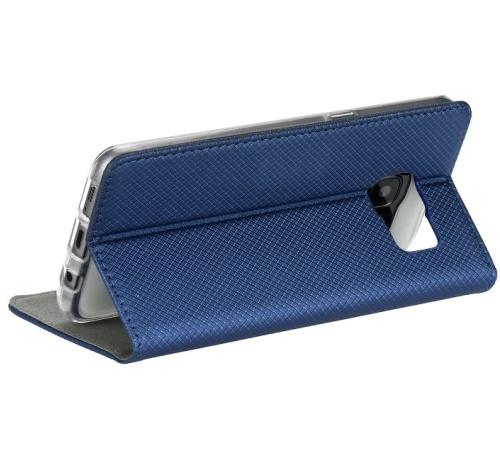 Flipové pouzdro Smart Magnet pro Samsung Galaxy M21, modrá