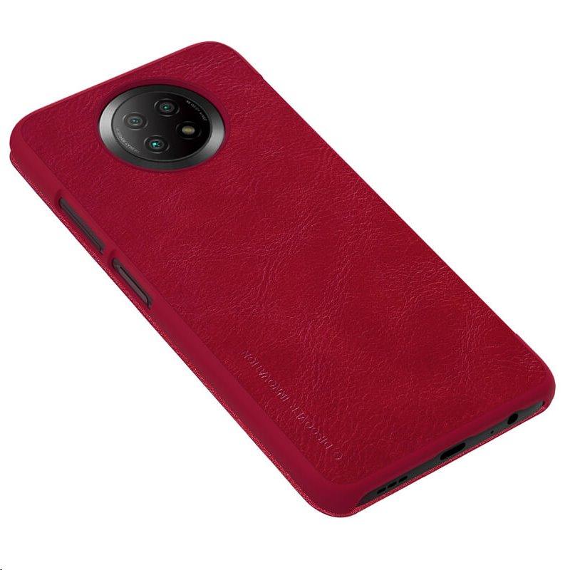 Nillkin Qin flipové pouzdro pro Xiaomi Redmi Note 9T, red