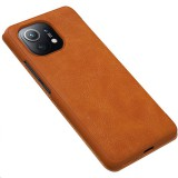 Nillkin Qin flipové pouzdro pro Xiaomi Mi 11, hnědá
