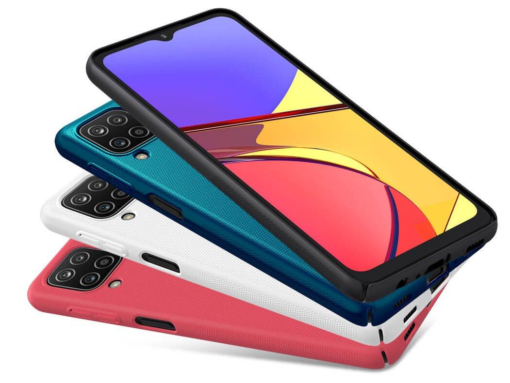 Zadní kryt Nillkin Super Frosted pro Samsung Galaxy A02s, modrá