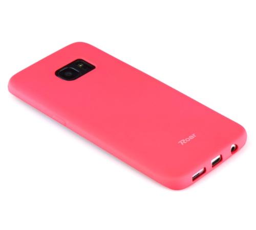 Ochranný kryt Roar Colorful Jelly pro Samsung Galaxy A42 5G, tmavě růžová