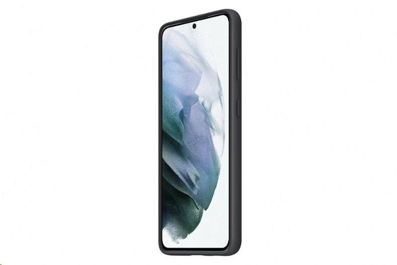 Silikonové pouzdro Samsung EF-PG991TBE pro Samsung Galaxy S21, černá