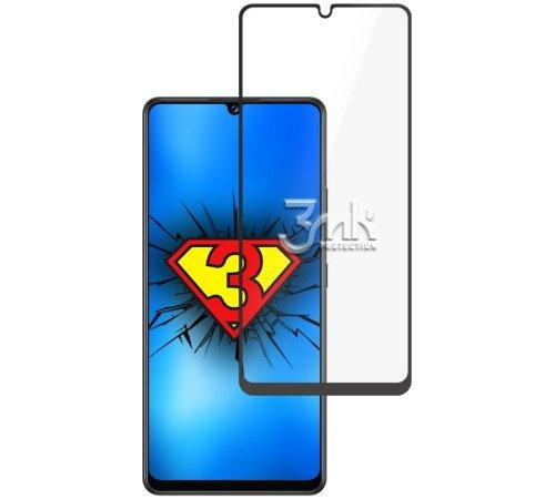 Tvrzené sklo 3mk HardGlass Max Lite pro Samsung Galaxy A42 5G, černá