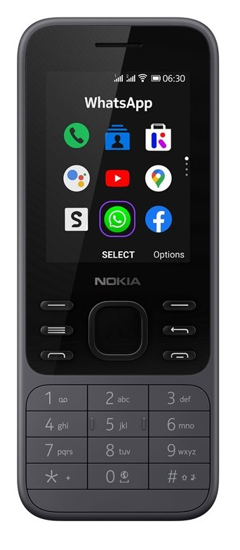 Nokia 6300 4G šedá