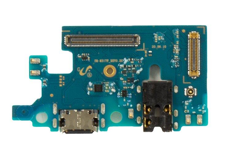 Samsung Galaxy M31s Deska vč. Dobíjecího Konektoru