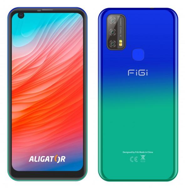 ALIGATOR FIGI NOTE3, 32GB Gradient modrý