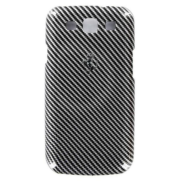 Zadní kryt Ferrari Full Carbon pro Samsung Galaxy S III