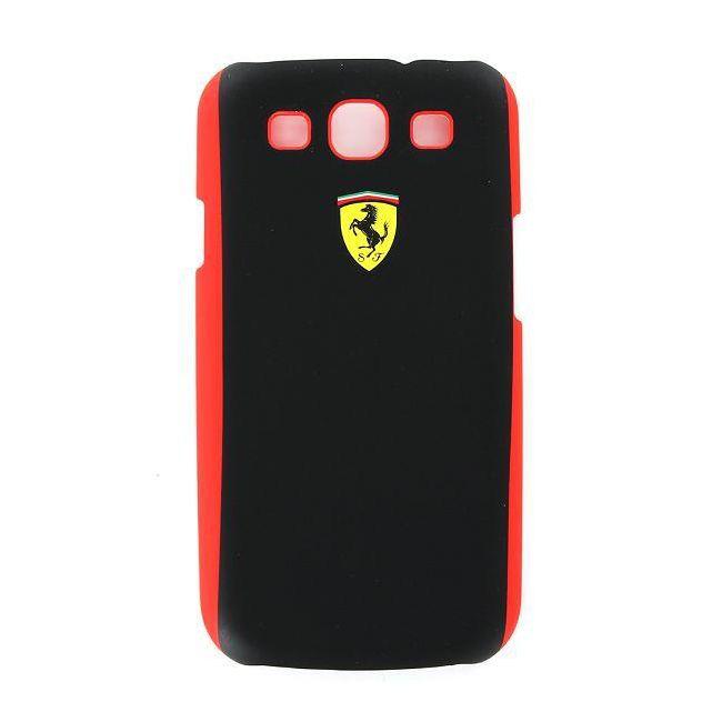Zadní kryt Ferrari Scuderia pro Samsung Galaxy S III, black/red