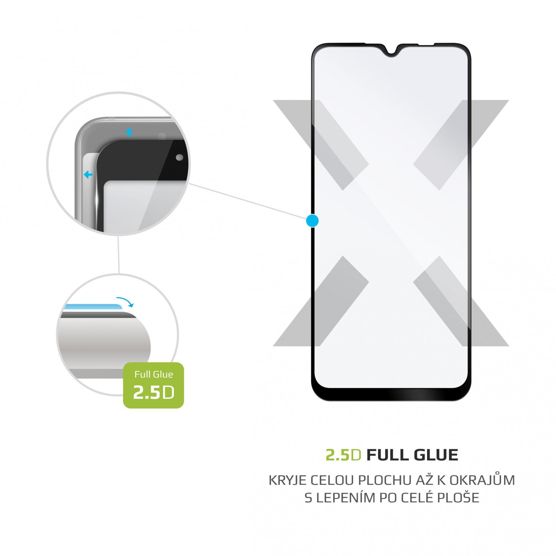 Ochranné tvrzené sklo FIXED Full-Cover pro Lenovo K12, černá