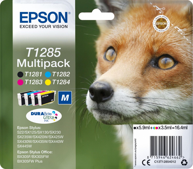 Originální náplň do tiskárny Epson T1285 Multipack