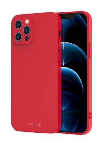 Zadní kryt Swissten Soft Joy pro Apple iPhone 5/5S/SE, červená