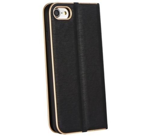 Flipové pouzdro Forcell Luna Book pro Samsung Galaxy A12, černá