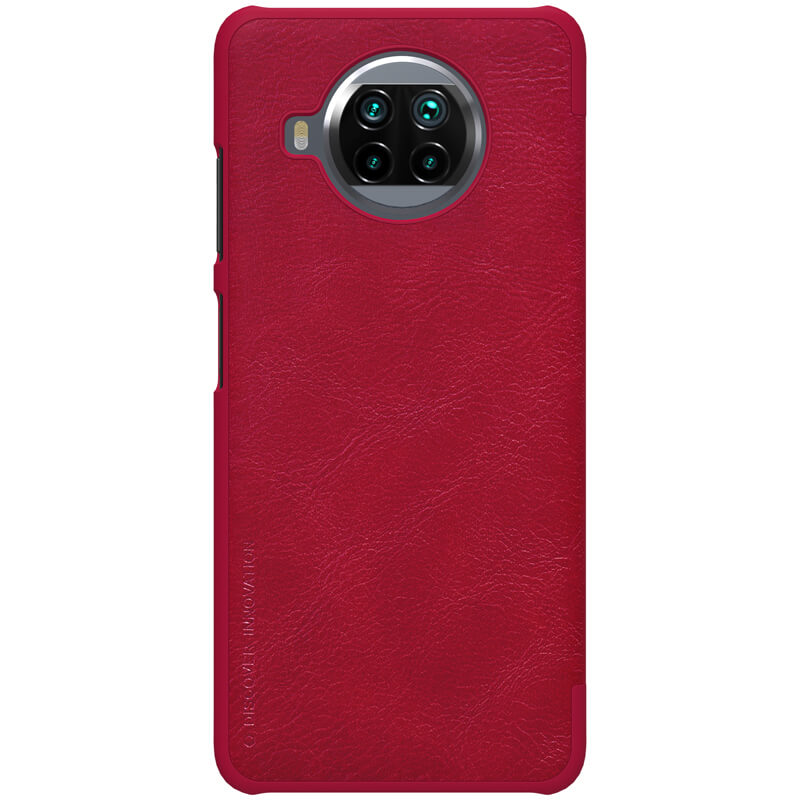 Nillkin Qin Book flipové pouzdro pro Xiaomi Mi 10T Lite 5G, červená