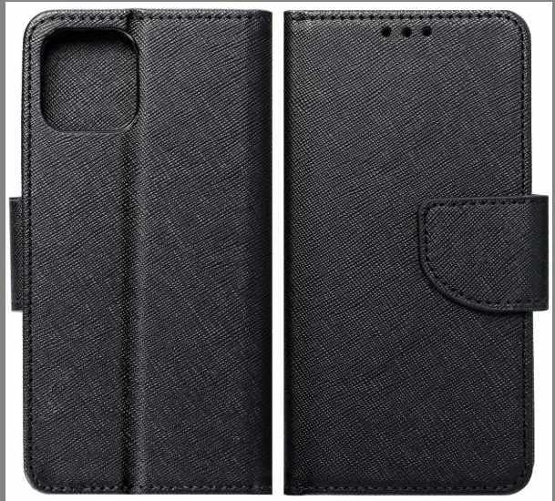 Flipové pouzdro Fancy pro Samsung Galaxy A72, černá