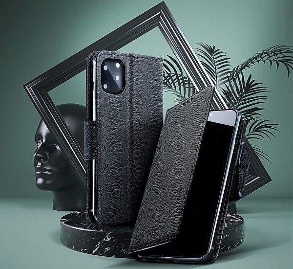Flipové pouzdro Fancy pro Realme 8, černá