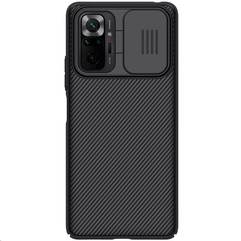 Zadní kryt Nillkin CamShield pro Xiaomi Redmi Note 10 Pro, černá