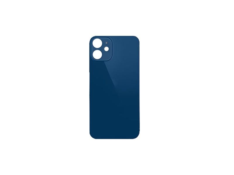 Kryt baterie Back Cover Glass + Big Camera Hole pro Apple iPhone 12, modrá