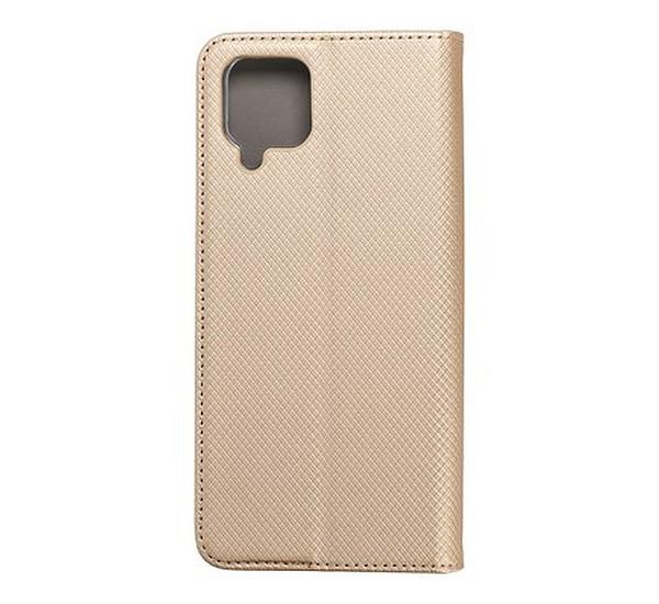 Flipové pouzdro Smart Magnet pro Samsung Galaxy M12, zlatá