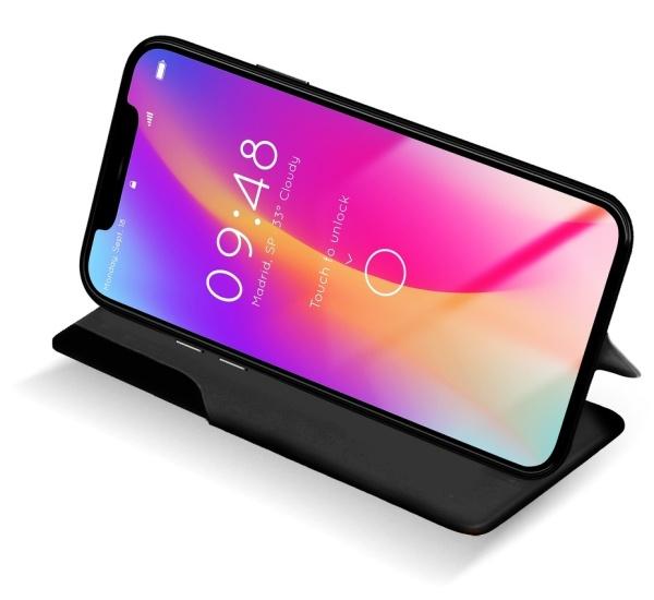 Flipové pouzdro SMART VIEW pro Samsung Galaxy A21s, černá