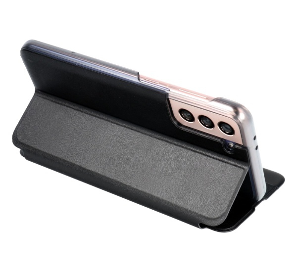 Flipové pouzdro SMART VIEW pro Samsung Galaxy S21 Ultra, černá