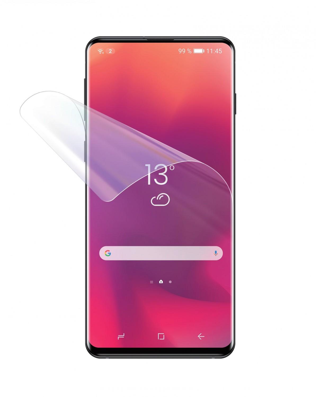 Silikonová fólie FIXED Invisible Protector pro Samsung Galaxy S21 (2ks), čirá