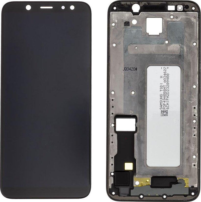 LCD + dotyková deska pro Samsung Galaxy M12, black (Service Pack)