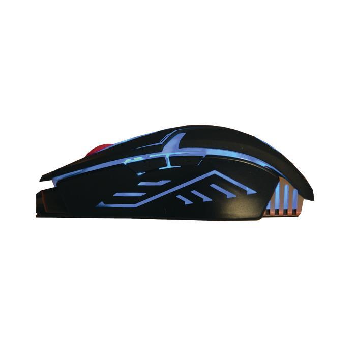 Herní myš Rebeltec Hunter 2 černá