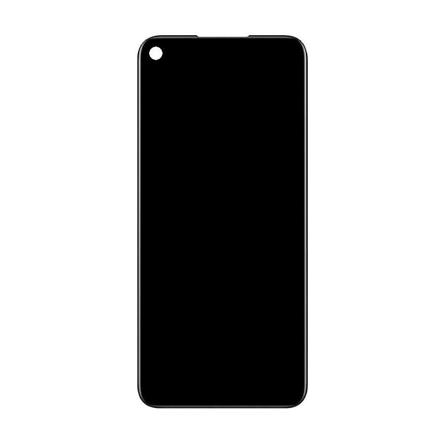 LCD + dotyk + přední kryt pro Realme C21, black (Service Pack)