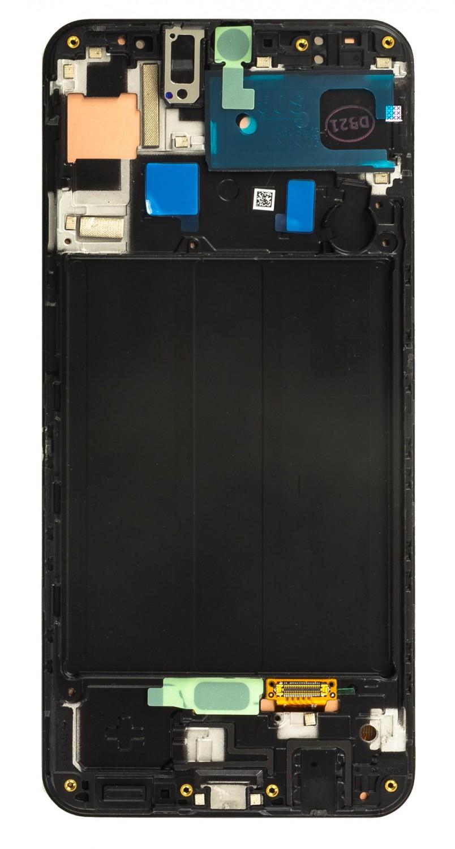 LCD + dotyková deska pro Samsung Galaxy A50s, black ( Service Pack )