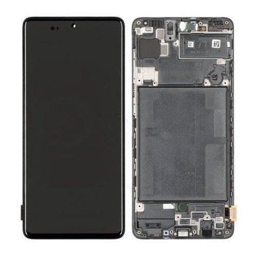 LCD + dotyková deska pro Samsung Galaxy A72, blue (Service Pack)
