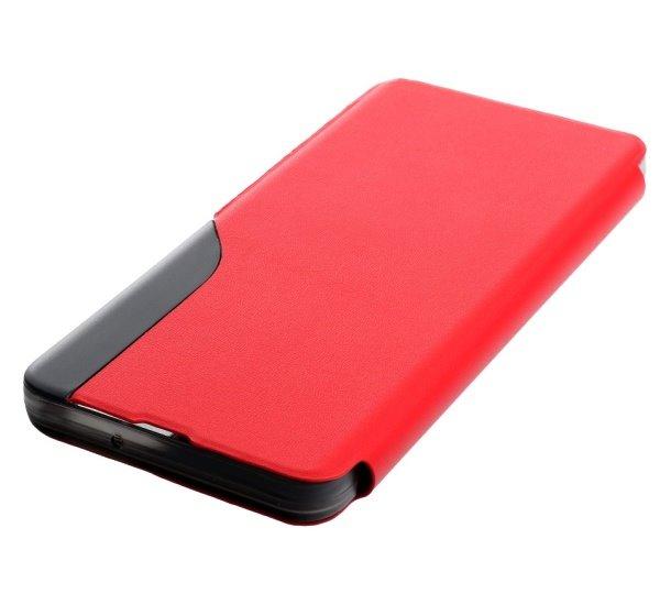 Flipové pouzdro SMART VIEW pro Samsung Galaxy S21, červená