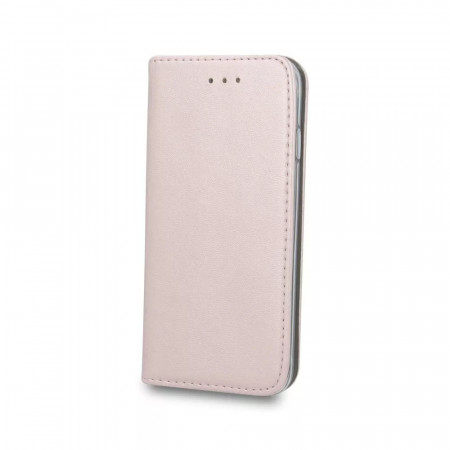 Cu-Be Platinum flipové pouzdro pro Samsung Galaxy A02S, rose gold