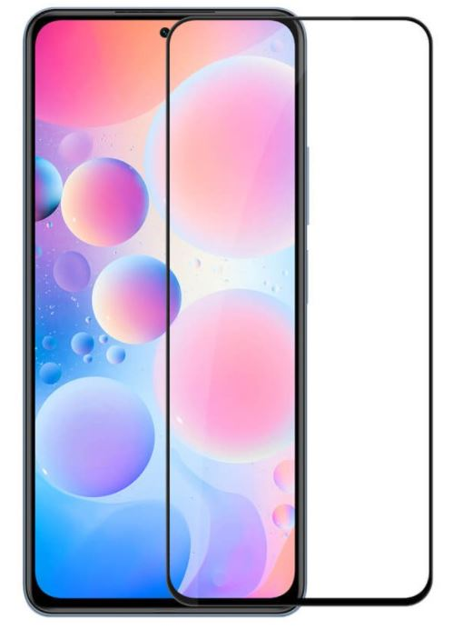 Tvrzené sklo Nillkin 2.5D CP+ PRO pro Xiaomi Poco F3, černá