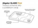 Ochrana displeje Aligator GLASS PRINT pro Xiaomi Redmi Note 10 Pro, černá