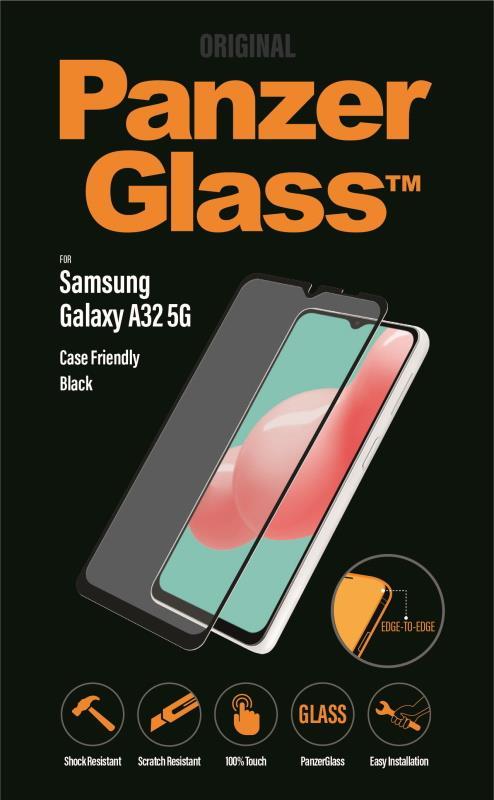 Ochranné sklo displeje PanzerGlass Edge to Edge pro Samsung Galaxy A32 5G, černá