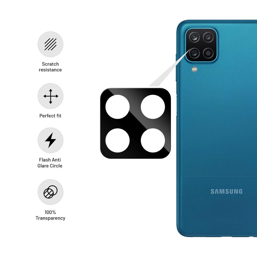 Ochranné sklo fotoaparátu FIXED pro Samsung Galaxy A12