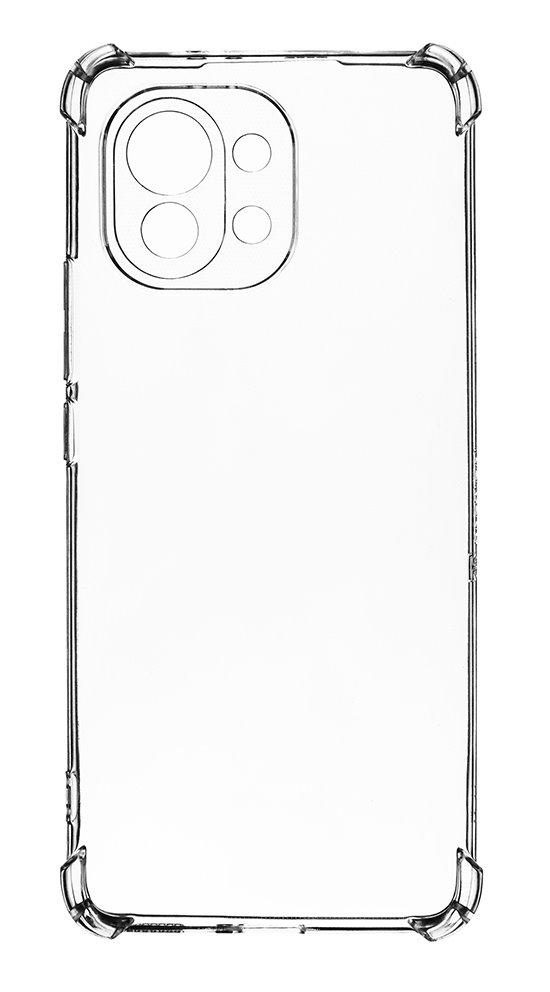 Zadní silikonový kryt Plyo pro Xiaomi Mi 11, transparentní