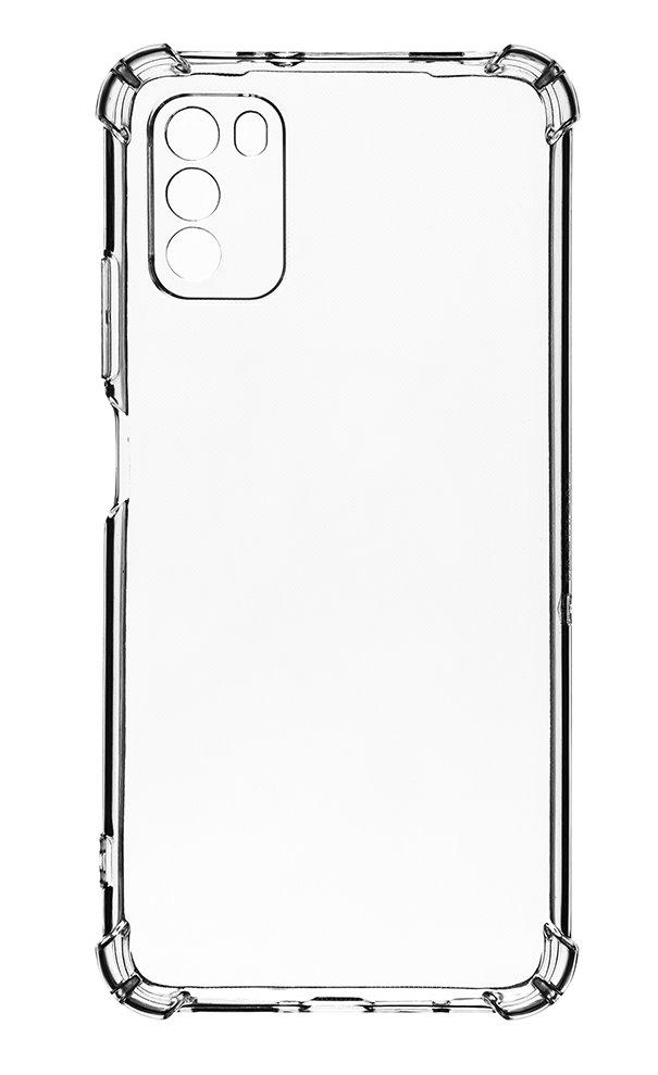 Zadní silikonový kryt Plyo pro Xioami Poco M3, transparentní