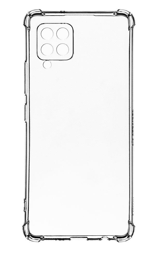 Zadní silikonový kryt Plyo pro Samsung Galaxy A42 5G, transparentní