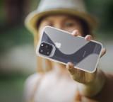 Zadní kryt Forcell S-CASE pro Apple iPhone 12, 12 Pro, čirá
